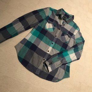 🌞2/$15🌞 AEO Plaid Flannel